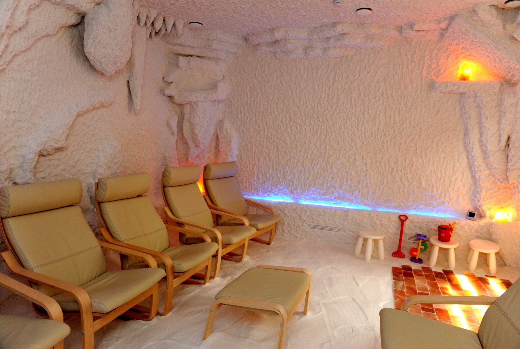 Картинка соляной комнаты